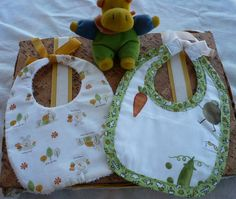 bibs, made by me