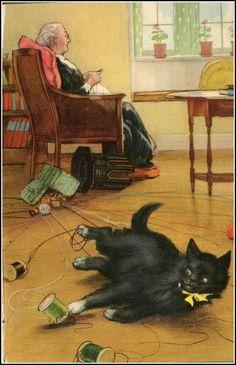 P.B. Hickling illustration - via Petra Brown's excellent blog 'Petra's Cupboard'
