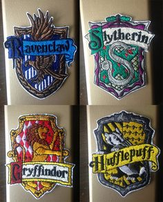 Harry Potter Patches Machine Embroidery Design