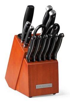 KitchenAid 14-pc. Triple Rivet Knife Block Set