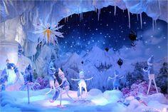 Découvrez les vitrines de Noël 2015 du Printemps Haussmann à Paris. Les vitrines des grands magasins promettent toujours magie et émerveillement !