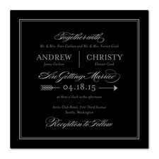 Precious Point Wedding Invitations
