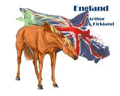 Horse Hetalia: England