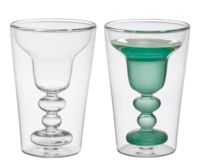 Bitossi Home Cocktail Set 2 Bicchieri Margarita, Borosilicato, 9 cm, 2 unità Johny Walker, Margarita Glasses, Luxury Shop, Home Living, Dinnerware, Shot Glass, Drinking, Cocktails, Mugs
