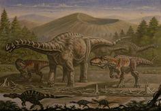 Argentinosaurus, Giganotosaurus, Irritator