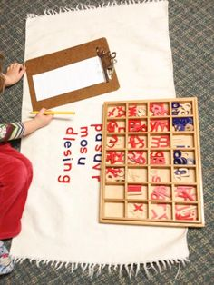 Check out these awesome prompts and extensions for the Montessori Moveable Alphabet!