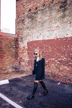 Blazer Dress - High End Hippie