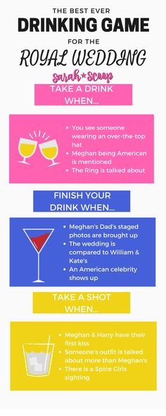 9e831d12b4f87 The Best Royal Wedding Drinking Game