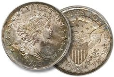 Premium Gem 1799 silver dollar PCGS-certified