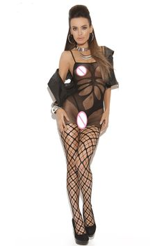 7510188c1 2017 New Sexy Women Lingerie bodysuit Floral Hollows Body Stocking with  Pothole Legs  Affiliate Women