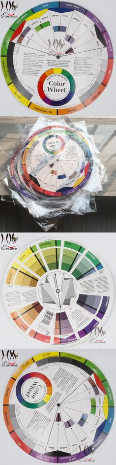 tattoo permanent makeup accessories Color Wheel for amateur and professional select a  color mix Microblanding pigments