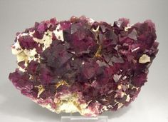 Fluorite with quartz from New Mexico