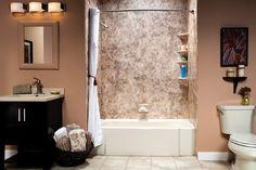 Home bathroom remodel.