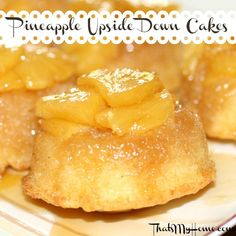Pineapple Upside Down Cake with Fresh Pineapple - That's My Home