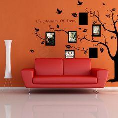 Multi Flower Tree Mural Home Window Art Decor Mural Wall Paper Sticker Decal New   eBay