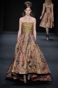 Badgley Mischka #NYFW #AW15 #NewYork #NewYorkFashionWeek #FashionWeek #Fashion #style #designer #catwalk #womenswear #fall2015