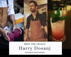 Things To Do In Kelowna - Insider Interview With Kelowna Bartender Harry Dosanj. Find out the best restaurants and bars to hang out at. Things To Do In Kelowna, Best Cocktail Bars, Pop Up Bar, Farm Photo, Family Days Out, Good Burger, Craft Cocktails, Say Hi, British Columbia