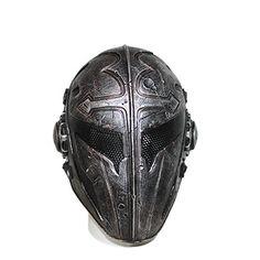 Masque airsoft Black Templar