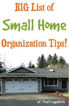 41 Small Home Organization Tips! ~ from TheFrugalGirls.com ~ you'll love these organizing tips to get your cute little house in tip-top organized shape! #thefrugalgirls organization ideas #organization #organized