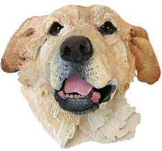 CUSTOM portrait wall hung Dog Sculpture by PARTSofaLargerWorld