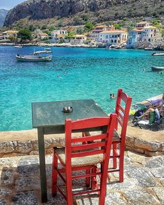 990 Likes, 43 Comments - Greece Outdoor Chairs, Outdoor Furniture Sets, Outdoor Decor, Cheap Hotels, Travel Aesthetic, Greece Travel, Best Artist, Best Hotels, Travel