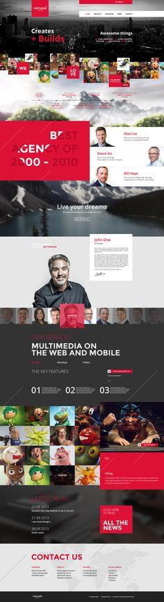 Virtuoso Studio - Unique Webdesign by *Freshpiration on deviantART #webdesign