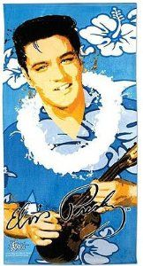 Elvis #Presley Hawaii Hibiscus Flower Ukulele Beach Towel. This beautiful towel measures a large 30x60 inches, featuring a classic portrait of #Elvis. Officially licensed merchandise to insure you are purchasing an item of the finest quality. Makes a great gift! $20.99 #beachtowel