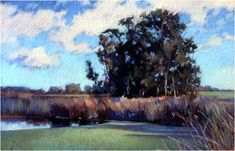 January Afternoon, 19 x 29 inches duane wakeham