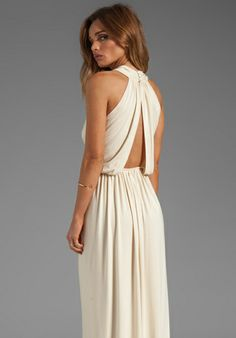 this would be a cute style for you! if we could find it in seafoam   RACHEL PALLY Kasil Dress in Cream - Dresses