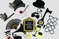 Great Gatsby années 1920 Photobooth inspiré par PAPERandPANCAKES