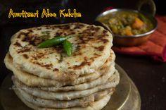 Culinary Xpress: Amritsari Aloo Kulcha - Potato stuffed Indian Flat Bread
