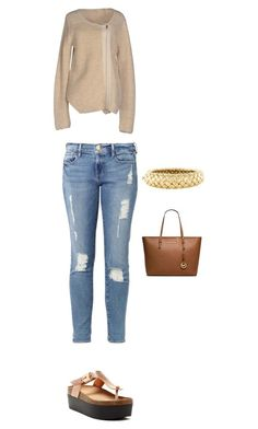 """""""..."""" by luhhbitts on Polyvore featuring Hoss Intropia, Frame Denim, Bucco, Angela Cummings and MICHAEL Michael Kors"""