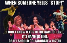 Definitely collaborate & listen :)