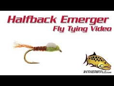 Lawson's Halfback Emerger Fly Tying Video Instructions - Mike Lawson Fly Pattern - YouTube