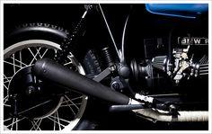 1980 BMW R80 - Tarmac CustomMotorcycles - Pipeburn - Purveyors of Classic Motorcycles, Cafe Racers & Custom motorbikes