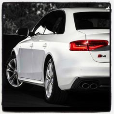 2013 #Audi #S4 dressed in #white... - taken by @Audi Cook Cook - via http://instagramm.in