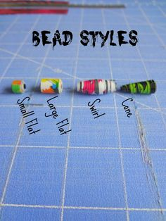 CraftyNightOwls: Duct Tape Bead Tutorial