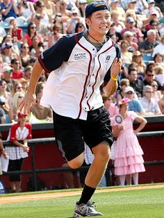 Scotty McCreery!!!! Mmmm!!! Adorable baseball player!