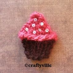 I love cupcakes to pieces, theyre cute and delicious. So why not Sweeten up your day with these adorable and cute cupcake knitting patterns....