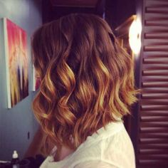 Best Angled Wavy Curly Hairstyle