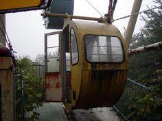 Artificial Owl: Abandoned amusement park: Takakanonuma Greenland, Hobara, Fukushima prefecture, Japan