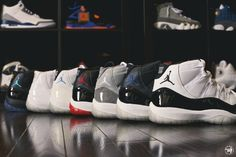 The legendary Air Jordan 11 was first released for for season. The Air  Jordan 11 are the most famous and most popular model of the Air Jordan line. 4794b2218