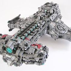 LEGO Starcraft Battlecruiser