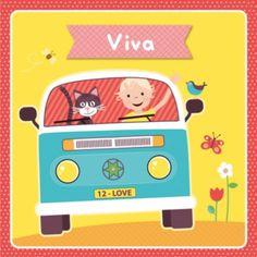 Geboortekaartje Viva - ZW voor