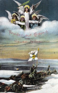 German postcard from Christmas 1914 (copyright Simon Rees)
