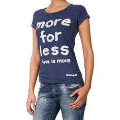 Love this! More For Less Shirt Blue, $18, now featured on Fab.