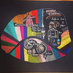 #paris #embroidery #audreydemarre #montmartre #theatrebouffesdunord #merci #museedorsay #coutumecafe #jardinsdupalaisroyal #colorova #le galopin Paris, Illustration Art, Cross Stitch, Music Instruments, Embroidery, Montmartre Paris, Punto De Cruz, Needlepoint, Punto Croce