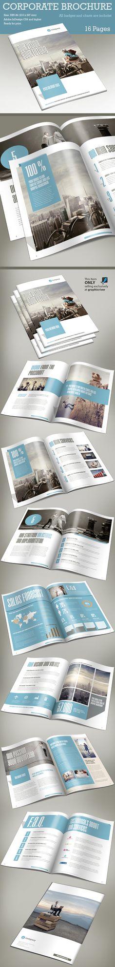 Corporate Brochure  #brochuredesign #corporatebrochure #booklets #annualresports #brochuretemplates #catalogdesign