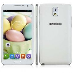 JIAKE N900W smartphone use 5.5 inch screen, 512MB RAM + 4GB ROM with MTK6572 dual core 1.2GHz processor, has 2MP front + 2MP rear double camera, and installed Android 4.2 OS.