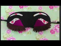 Antifaces Sleep mask Lovelyart Antifaces de dormir Desayuno con diamantes Lovelyart